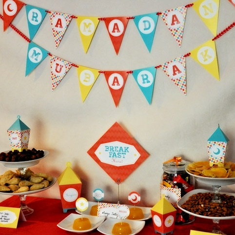 Printable ramadan eid party collection by sakina design for Ramadan decorations at home