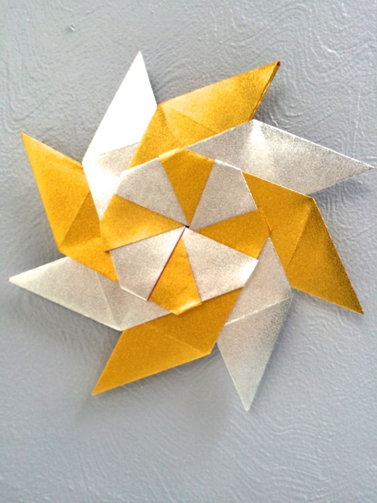 Origami Paper Stars | Tutorial - YouTube | 1024x768